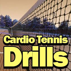 By regularly performing a variety of carefully crafted cardio tennis drills players can improve their stamina and overallfitnesslevels allowing them to win more sets and play a better game of tennis. So to help players to work on their cardiowe'vecompiled a great selection of cardiovascular drills for every type of player ranging from the absolutebeginnerright …