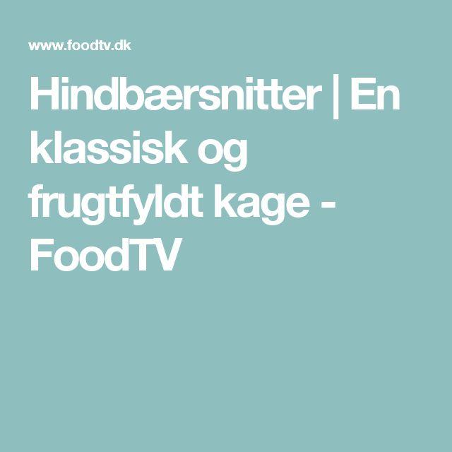 Hindbærsnitter | En klassisk og frugtfyldt kage - FoodTV