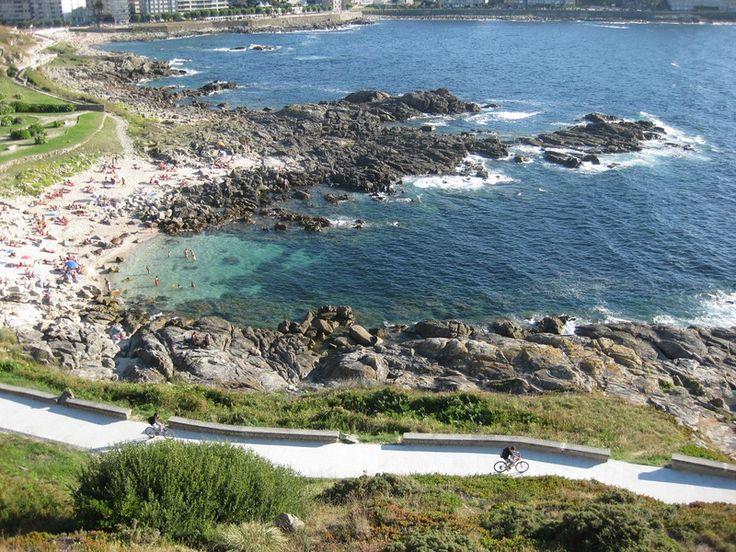 Baiona Coast in Spain. ¡Un lugar fantástico!