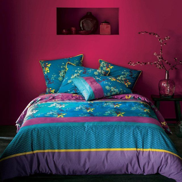 24 best achat images on pinterest duvet covers comforters and printed cotton. Black Bedroom Furniture Sets. Home Design Ideas