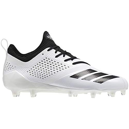 best website 398a9 8fc17 adidas Adizero 5Star 7.0 Cleat Men s Football 10 White-Black