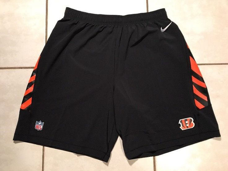 NWOT NIKE NFL ON FIELD Cincinnati Bengals Shorts Men's 3XL  | eBay