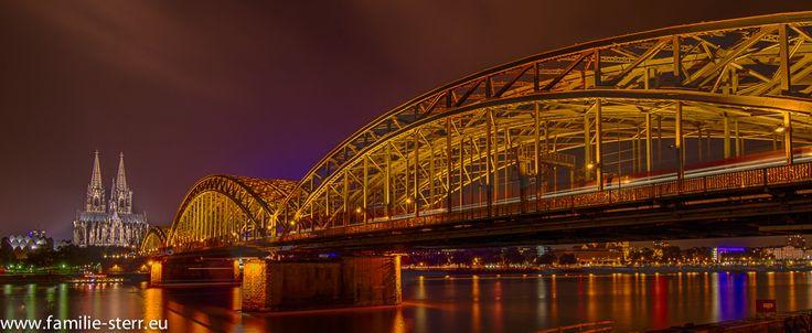 Cologne - Dome an Hohenzollernbridge