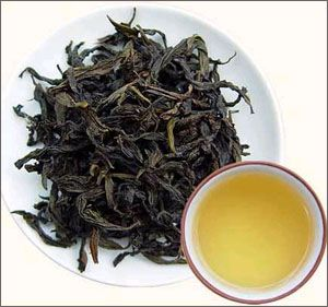 Oolong tea, tastes better than green and a good detox