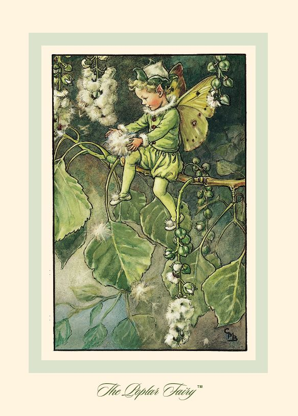 R. John Wright Presents: The Poplar Fairy from 'A Flower Fairy Alphabet' Collection - R. John Wright, Bennington, VT