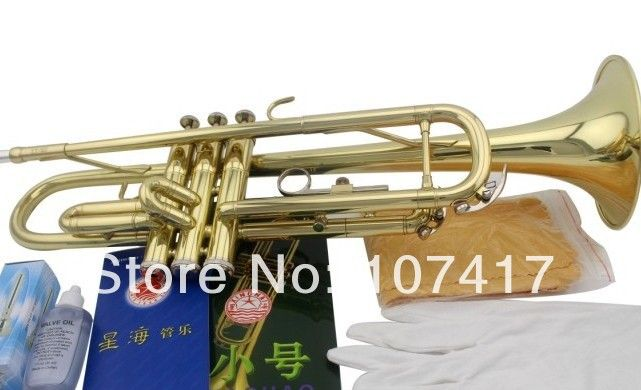 2017FREE Senior Bach Silver Plated Bach Trumpet LT180S-43 Small Brass Musical Instrument Trompeta Professional High Grade.