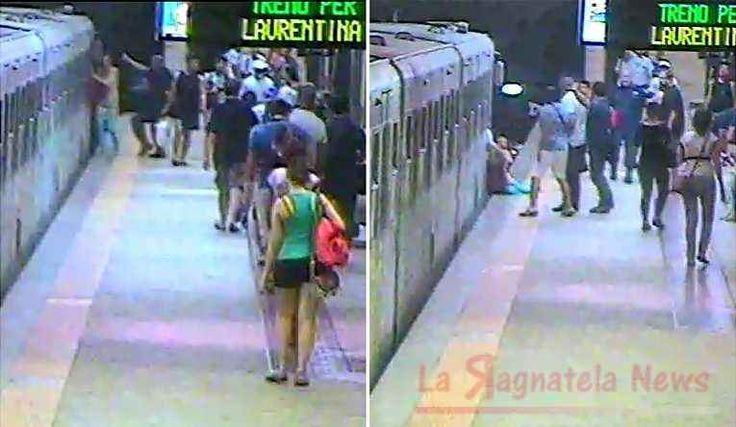 Donna trascinata dalla metro B, incastrata nelle porte Raccapricciante anche se a lieto fine, la storia della donna che mercoledì scorso è rimasta incastrata con una mano nel convoglio della metropolitana capitolina alla Stazione Termini. La donna trasci