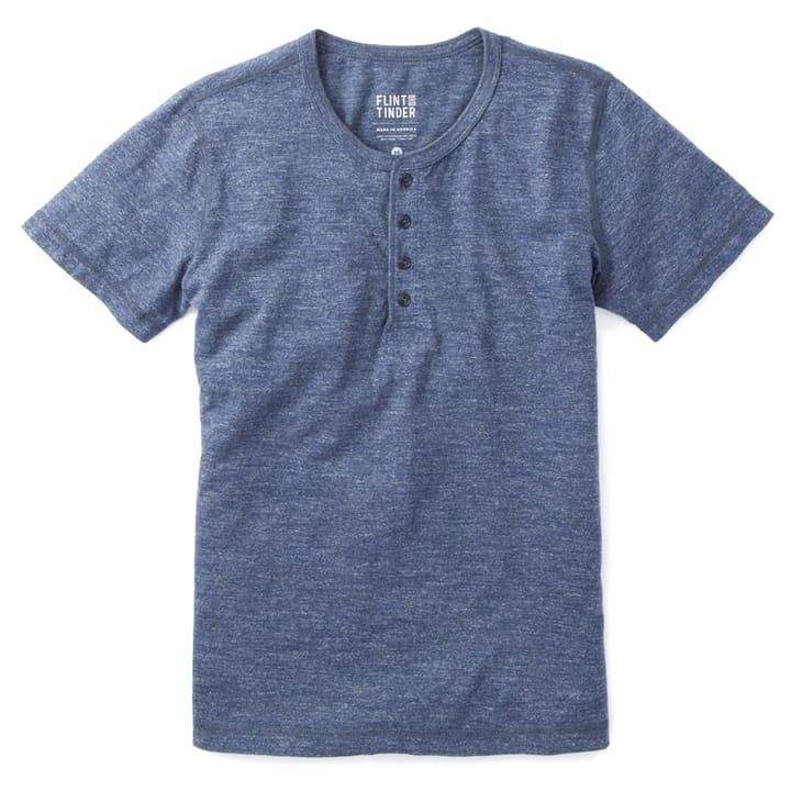 Flint and Tinder Marled SS Henley