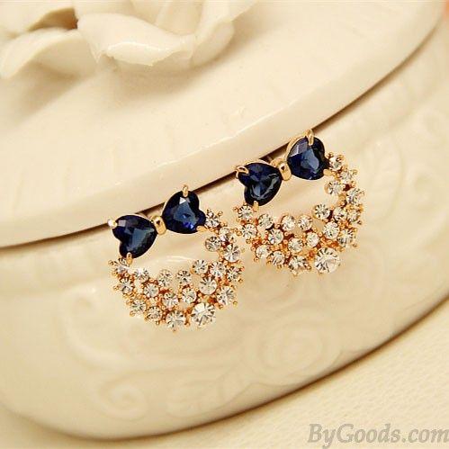 I am so happy to find the Elegante Plata Aguja Lolita Cristal Arco Brillante Anadem Diamante Aretes pernos prisioneros from ByGoods.com. I like it <3!Do you like it,too?