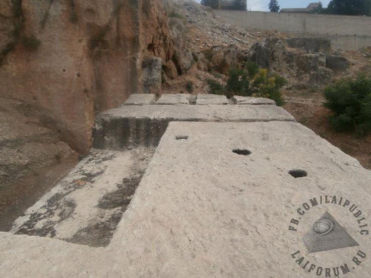 """In June 2014 a team of archaeologists of the Department of Antiquities of Lebanon and the Lebanese University, led by Professor Dr. Jeanine Abdul Masih, in conjunction with the German Archaeological Institute had excavated new megaliths at the South Quarry. Below the """"Hajjar al-Hibla"""" and directly beside it they discovered another megalithic stone block, even bigger than the first one. For comparison, the South Stone is 20,7m long, has width 4,05m and height 4,32m. The dimensions of the new…"""