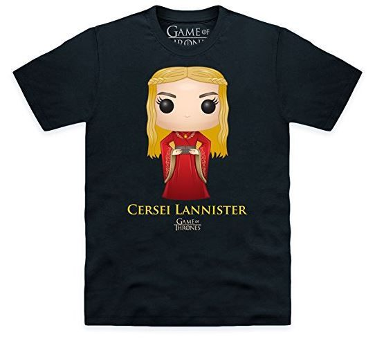 Funko Pop! Game of Thrones Cersei Lannister Official T-Shirt (affiliate link)