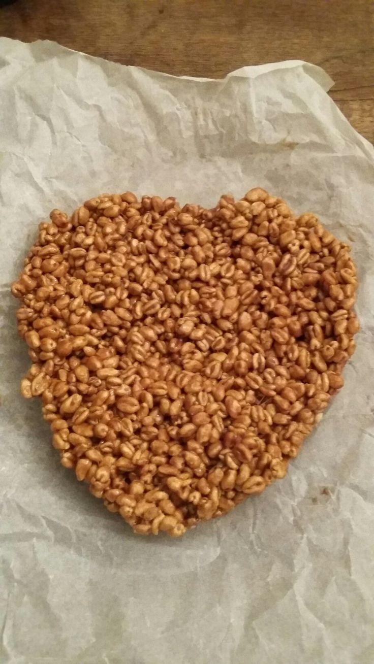 Gateau au blé caramel
