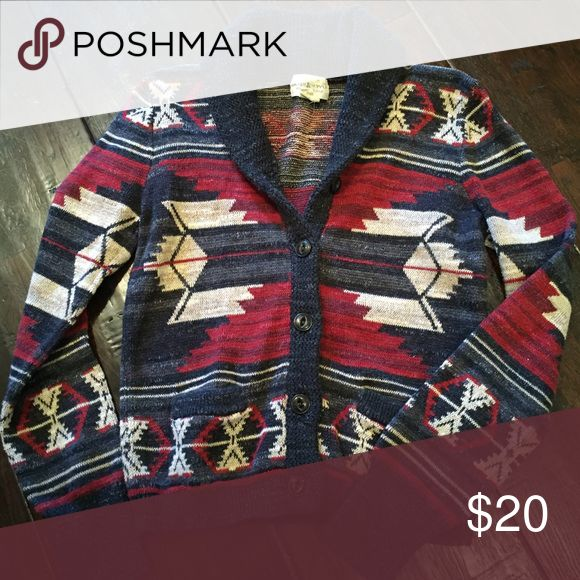 Ralph Lauren Demin and Supply Cropped nordic sweater Denim & Supply Ralph Lauren Sweaters Cardigans