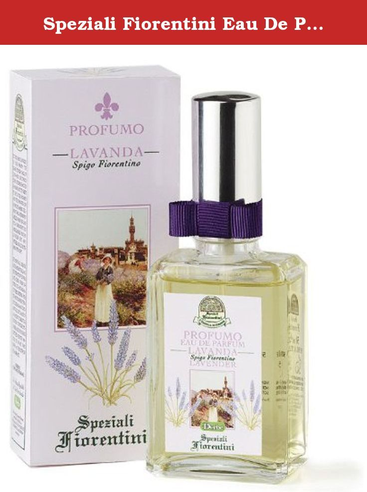 Speziali Fiorentini Eau De Parfum Spray, Lavender, 1.7 Ounce. Do you carry lavender in your heart? The sharp, tender smell of long-ago childhood days? Of grandmother hanging out the sheets to dry in the paddock and the bunches she always hid among the linen? It was lavender you smelled when she gave you a goodnight kiss and reminded you that lavender kept away witches and all the terrors of the night. This delicate perfume combines the safety of modern production methods with the ancient...