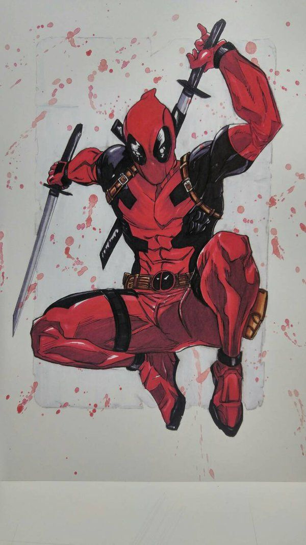 #Deadpool #Fan #Art. (Deadpool) By: Valdillezjj. (THE * 5 * STÅR * ÅWARD * OF: * AW YEAH, IT'S MAJOR ÅWESOMENESS!!!™)[THANK U 4 PINNING!!!<·><]<©>ÅÅÅ+(OB4E)