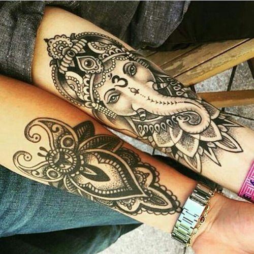 Tatuajes hindús Ganesha                                                                                                                                                                                 Más