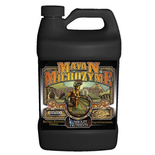 Bacterial Complex - Hydroponic Plant Nutrient Solution - 236 ml - Mayan MicroZyme by Humboldt Nutrients by Humboldt Nutrients. $19.28