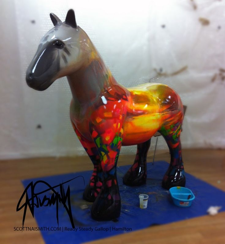 Scott Naismith Ready Steady Gallop horse to be auctioned for Kilbride Hospice on the 7th October 2014