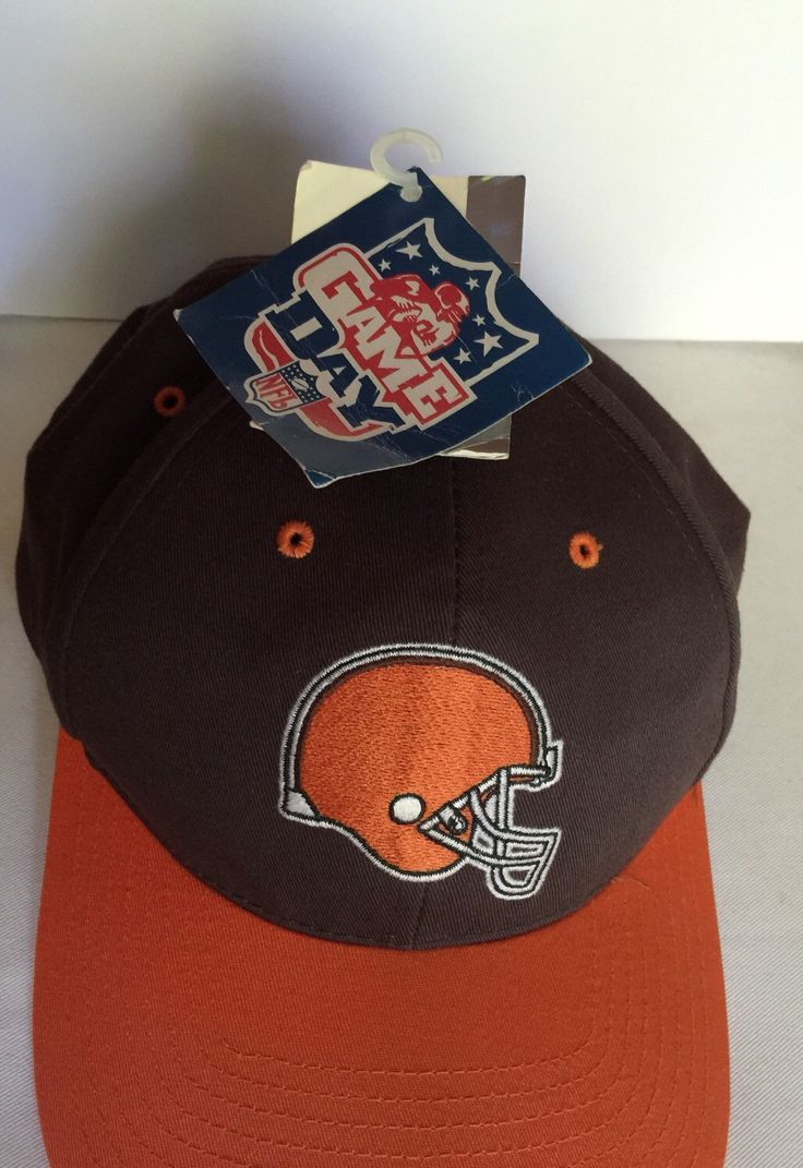 A personal favorite from my Etsy shop https://www.etsy.com/ca/listing/243902567/clevland-browns-nfl-vintage-baseball-hat