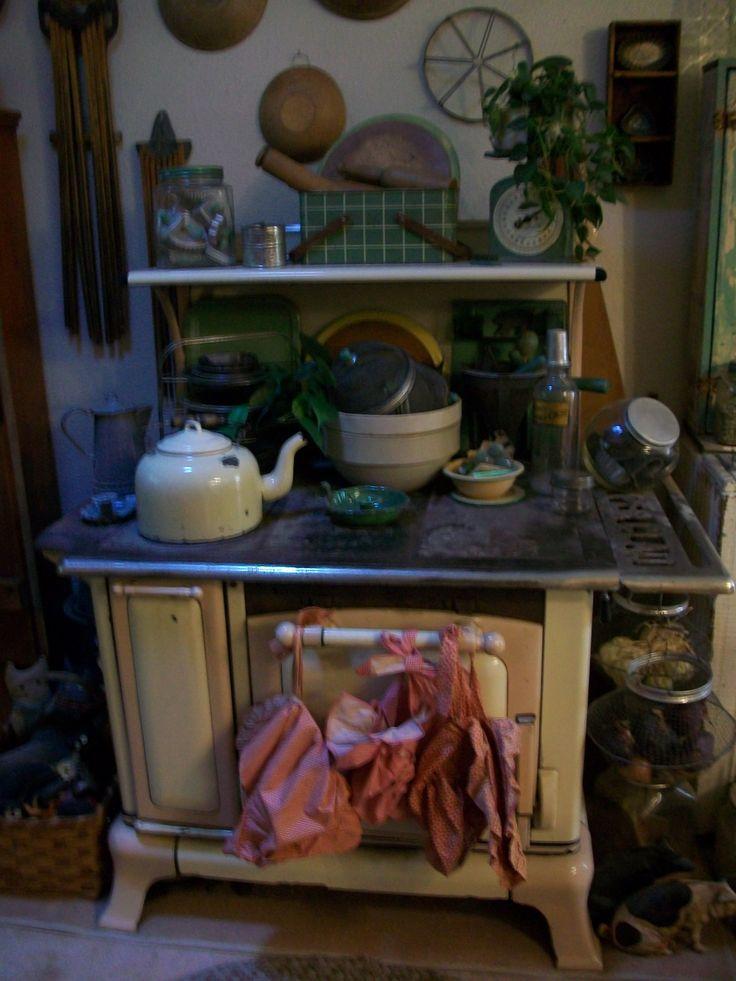Antique kitchen stove