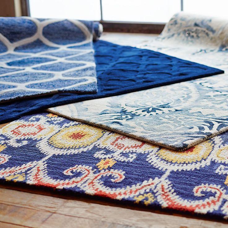 pier 1 living room rugs%0A Barrow Paisley Rug