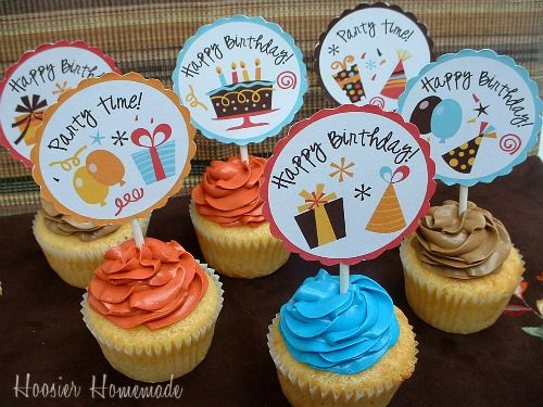 images about Cupcake Toppers Cupcake toppers