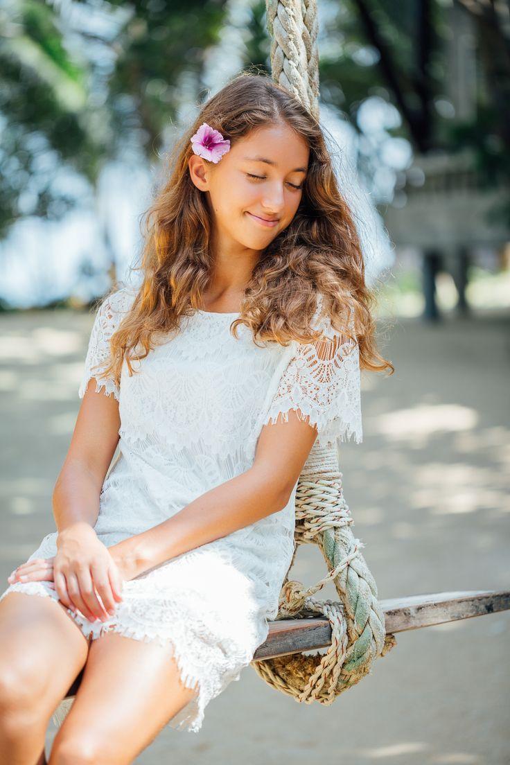 #portraitshooting in weißem kurzem Spitzenkleid .... Wäre auch ein schönes #hochzeitskleid  Location: Koh Phangan
