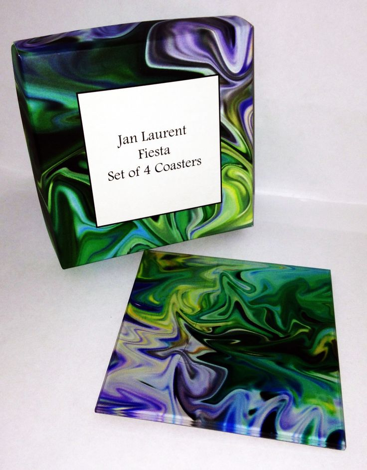 Green love! £20 for a set of 4. Available at Janlaurent.com