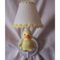Rubber Duckie Sconce, Ducky Themed Nursery | Ducky Bedding | ABaby.com