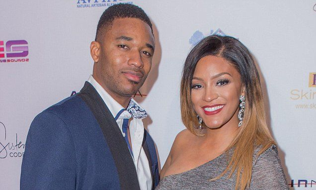 Drew Sidora and husband Ralph Pittman welcome son Machai early