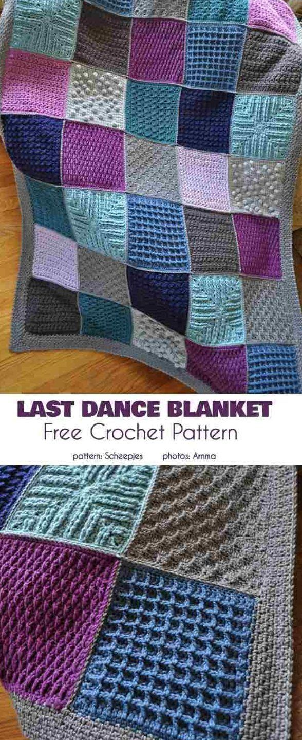 Variety Of Squares Crochet Blankets Squares Squares Squares Everywhere This Post Is An Unlimi In 2020 Granny Square Crochet Pattern Crochet Blanket Crochet Patterns