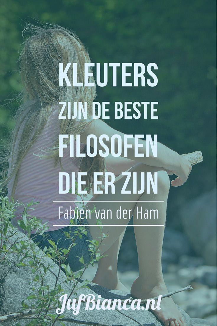 Vandaag hebben we bezoek van Fabien van der Ham alias de filosofiejuf. Op haar website vertelt ze over interessante gesprekken met kinderen verkoopt ze de producten die ze ontworpen heeft en geeft ze lesbrieven uit. Speciaal voor jullie vertelt ze iets over filosoferen met kleuters! #JufBianca