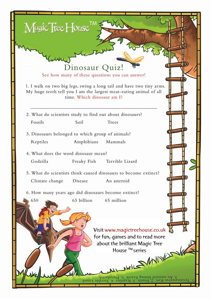 Magic Treehouse 3 Part - 23: Test Your Magic Tree House Knowledge With This Quiz.