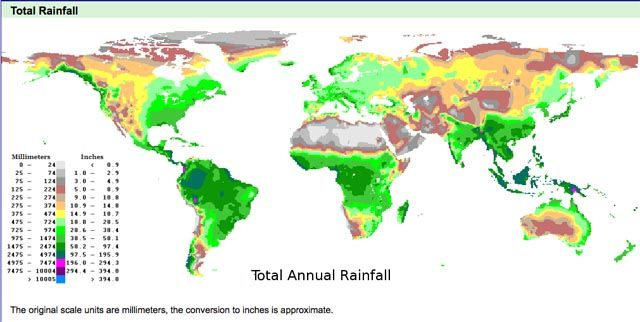 most precipitation by continent - Google Search