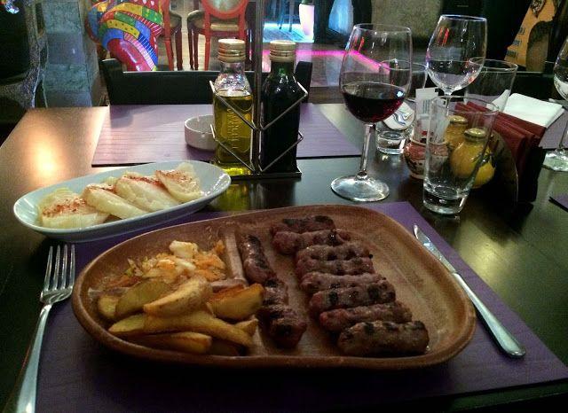 "Travel and Lifestyle Diaries Blog: Belgrade, Serbia: Surreal ""Cevapi and Sarma"" Dining at Lorenzo & Kakalamba"