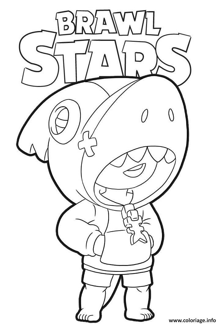 Dessin Brawl Stars A Imprimer