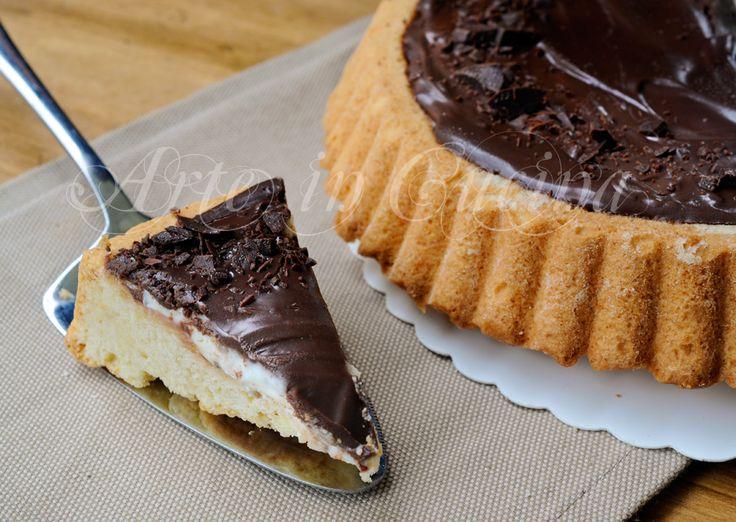 Crostata morbida ricotta e cioccolato facile e veloce