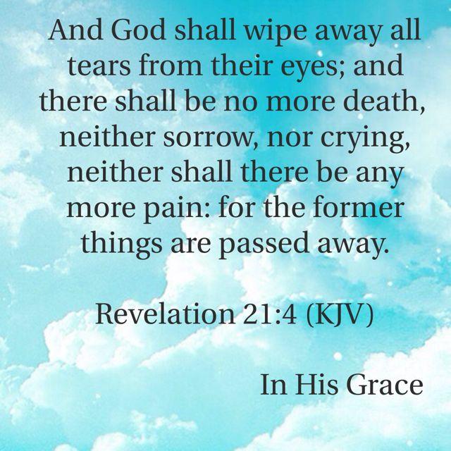Revelation 21:4 (KJV)