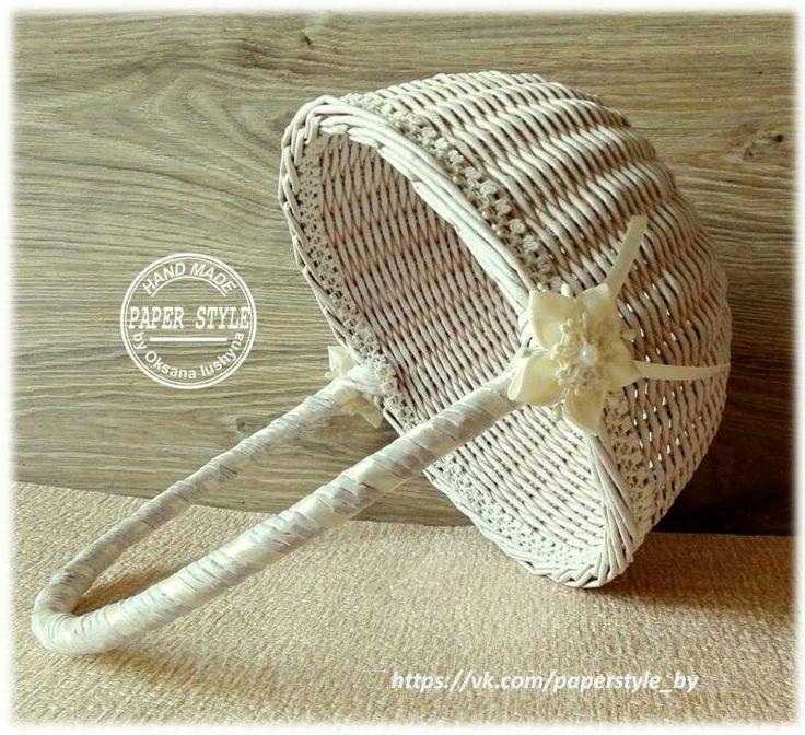 #paperstyle #handmade #ручнаяработа  #плетениеизбумаги #бумажнаялоза #плетение #плетениеназаказ #корзинка #интерьер #уютныйдом