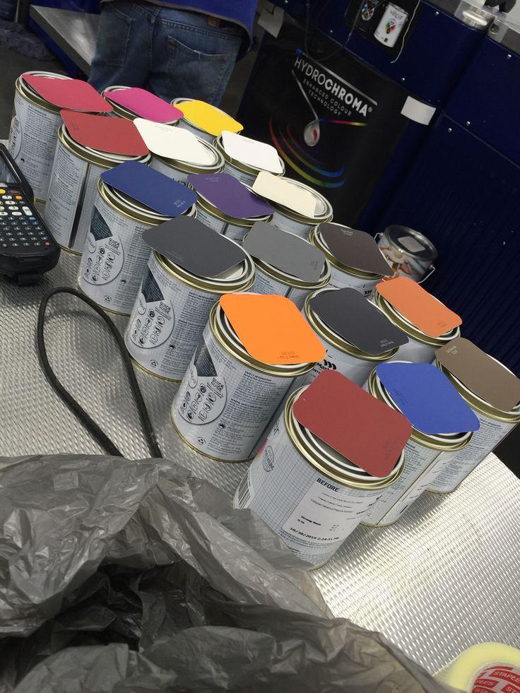 Sample pot sale at Masters!!! #winning #samplePots #paint #artist #Masters #valspar