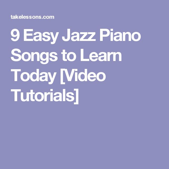 Piano Songs – Learn how to play Songs on piano