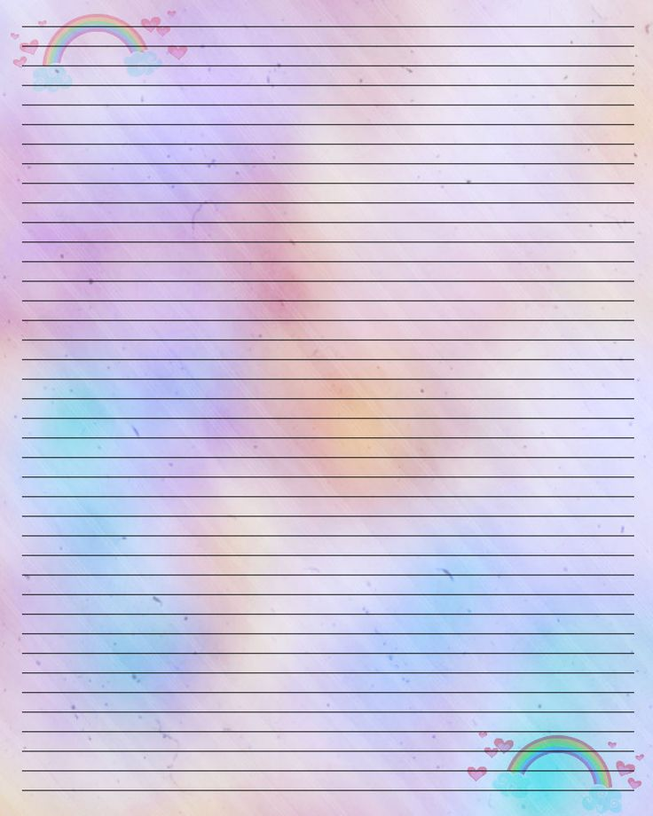 This is a graphic of Punchy Pretty Stationary Paper