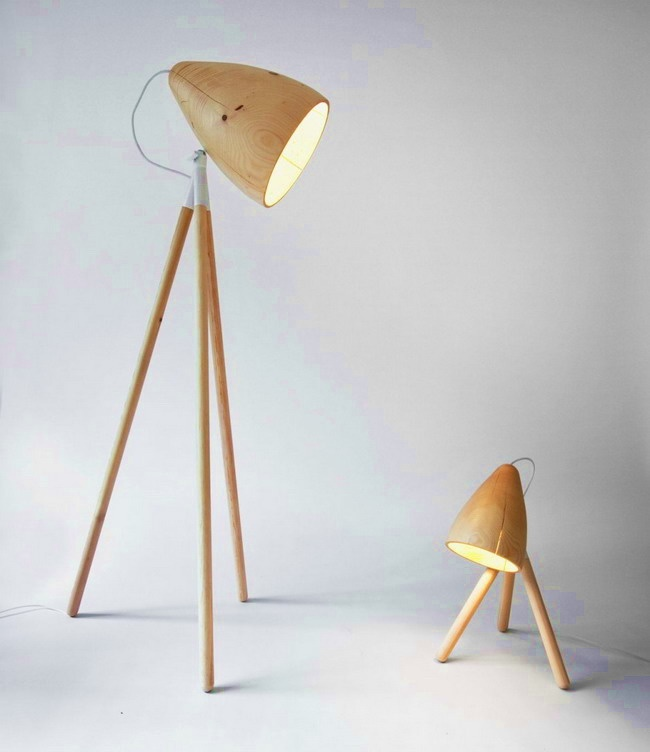 Top 79 Ideas About Wooden Lamps On Pinterest Craftsman
