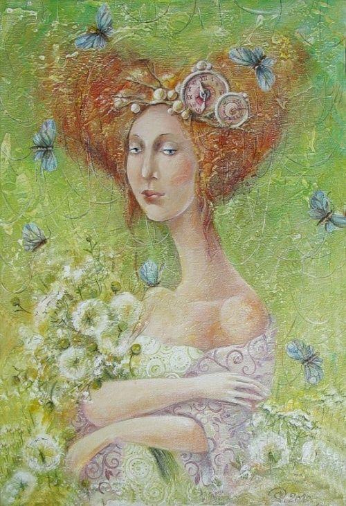 Иллюстратор Яна Фефелова (95 работ)