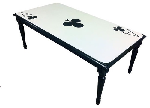 Ace Of Clubs Table   Dining Tables   Los Angeles   EcoFirstArt.com