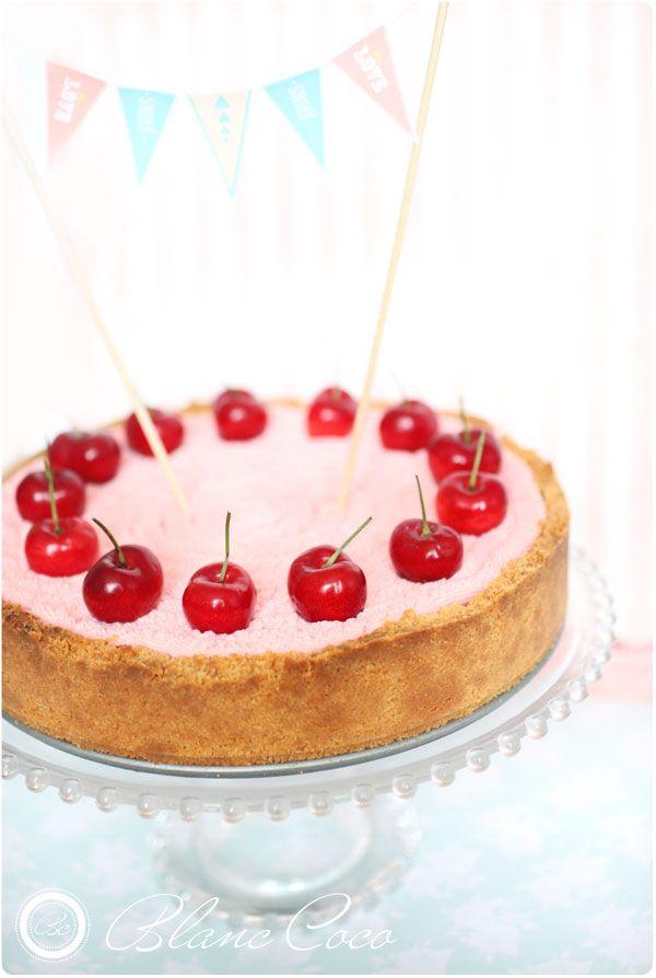 Cheesecake 'Le temps des cerises'