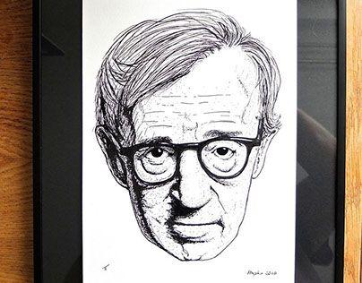 "Check out new work on my @Behance portfolio: ""Woody Allen - nibpen/ink"" http://be.net/gallery/50069761/Woody-Allen-nibpenink"
