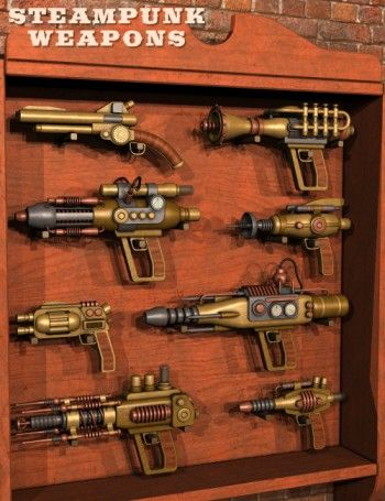 Steampunk Weapons #provestra