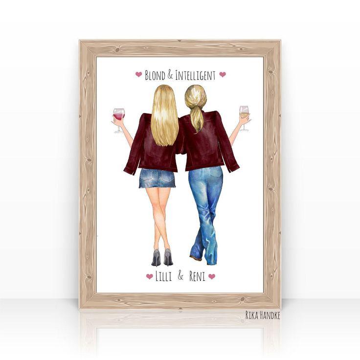 Pin auf Freundinnen-personalisierte+persönliche Geschenke