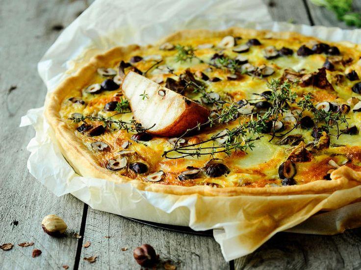 Découvrez la recette Tarte endives et camembert sur cuisineactuelle.fr.